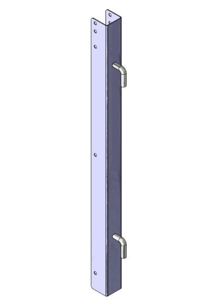 Torpfosten U-Profil 0,60m hoch