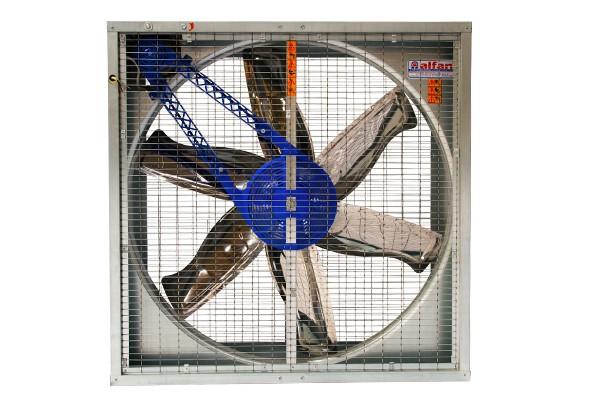 Ventilator 380V Gitter/Jalousie 100x100 cm