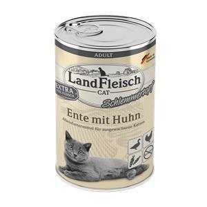 6 x 400 g - Landfleisch Cat Adult Schlemmertopf mit Ente & Huhn