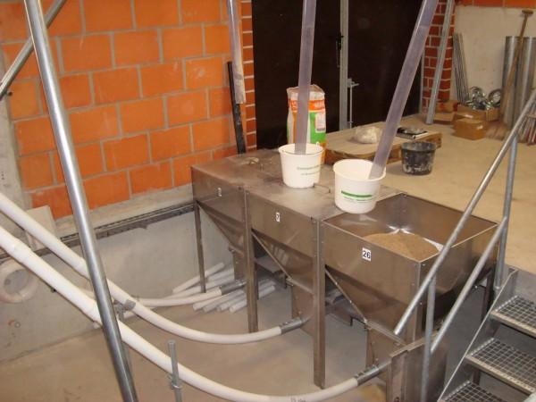 Behälter-Trichter 300 Liter für Aufnahmestation
