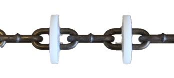 Förderkette gehärtet - für 45mm Förderrohr