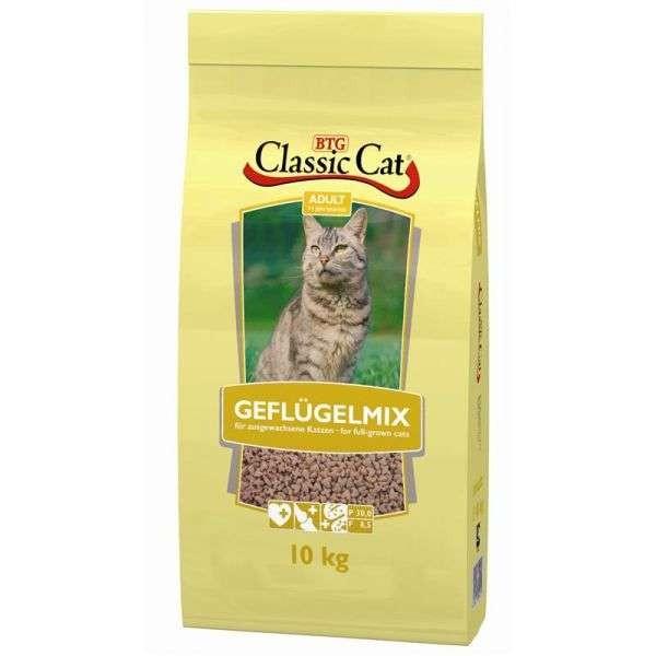 10 Kg - Classic Cat Geflügelmix