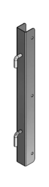 Torpfosten U-Profil 0,51m hoch
