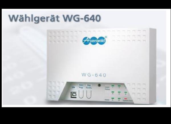 Telefonwahlgerät WG- 640
